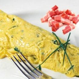 omelette-lardons